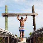 Fitness model Jason Suite